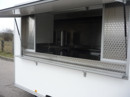 10ft Catering Trailer Exterior