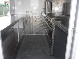 10ft Catering Trailer Interior