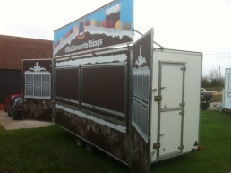 Aldi Catering Trailer