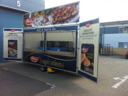 Birdseye Catering Trailer