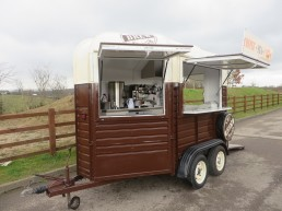 Custom Conversion Coffee Stand