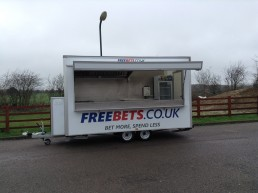 Freebets Catering Trailer