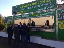 Paddypower Catering Trailer