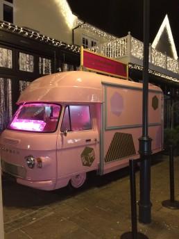 Pink Commer Van