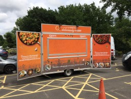 Quorn Catering Trailer