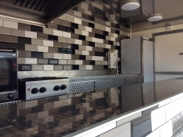 Tiled Catering Trailer