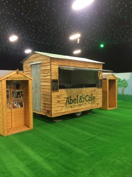 Wooden Shed Catering Trailer